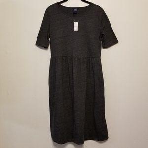 Gap Maternity grey t-shirt dress with pockets